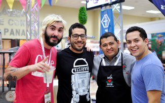 Alberto Bermudez - Unido, Wilford Lamastus Jr. - Bajareque Coffee House, Jose Luis Herrera Madrid - Barista Champ Honduras