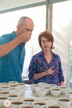 Mr. Ricardo Koyner from Kotowa Estates and Mrs. Estela Koyner from Kotowa Coffee House