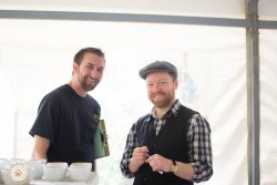 Todd Goldsworthy U.S. Brewers Cup Champion 2016(Left). Jeremy Callender (U.K. Brewers Champion 2016)